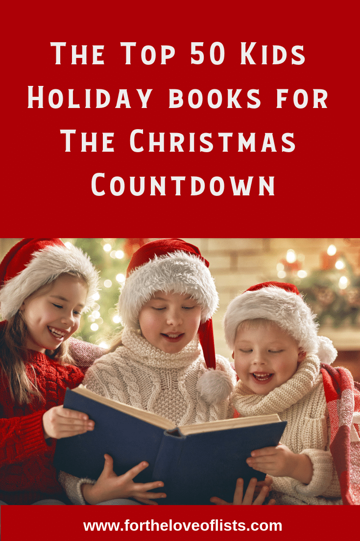 The Best Book for the Christmas Countdown Advent Calendar, Wrap 24 books for a fun countdown to Christmas. A great family tradition that builds a library of holiday books for years to come. #Christmas #ChristmasCountdown #Advent #adventcalendarforkids #kids #holidaytradition #ChristmasIdeas
