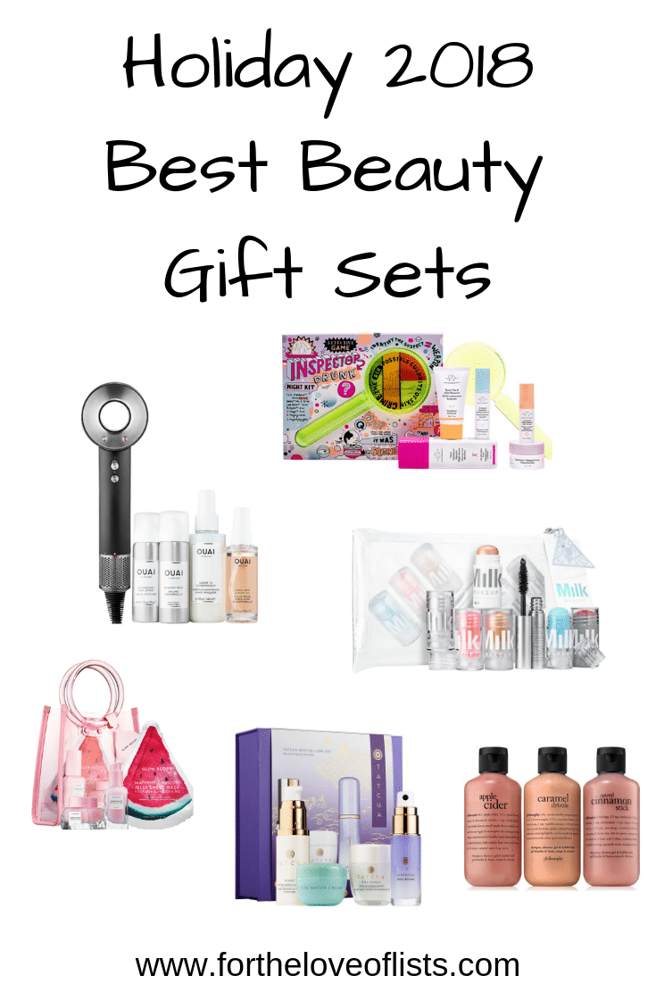 The Best Beauty Gifts Sets of 2018