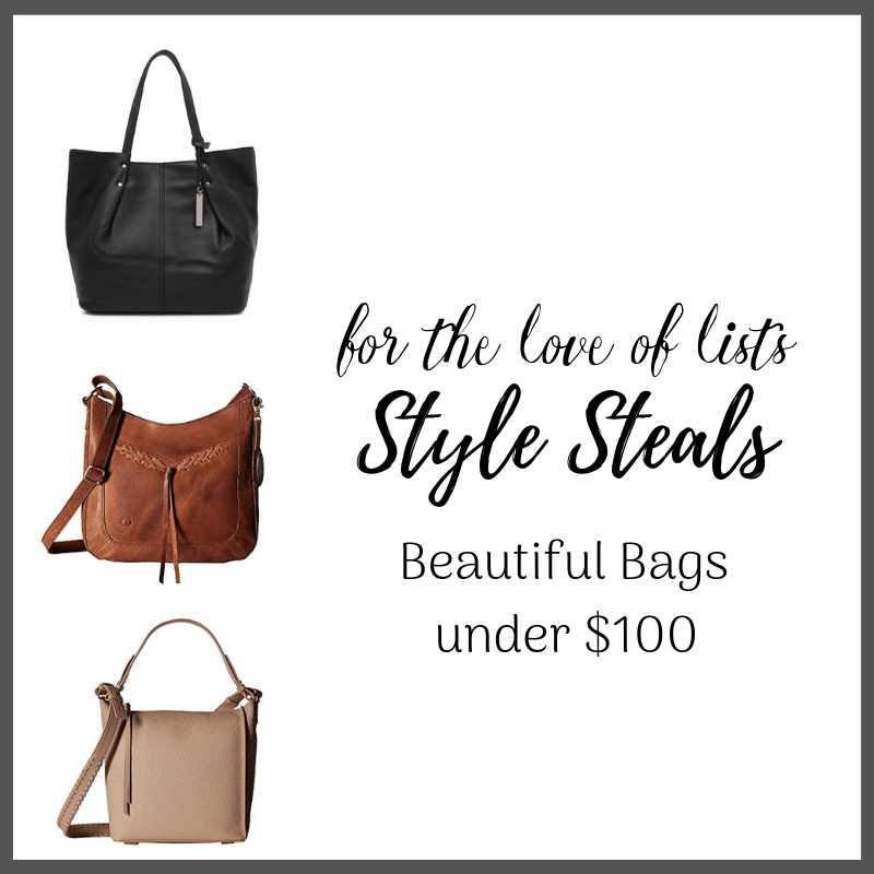 Style Steals – Gorgeous Leather Bags Under $100