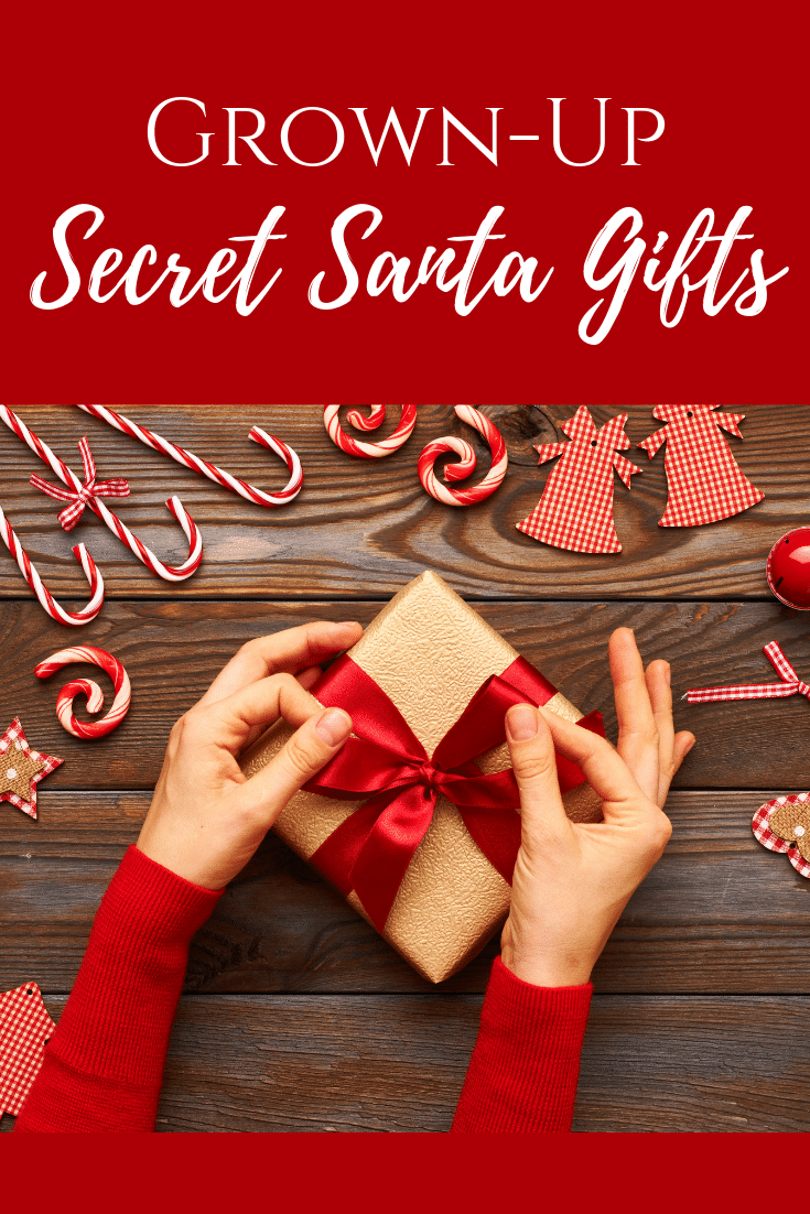 Secret Santa Gifts For Grown-Ups!
